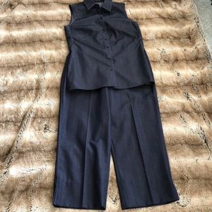 Designer Richard Tyler Collection Top and Pant